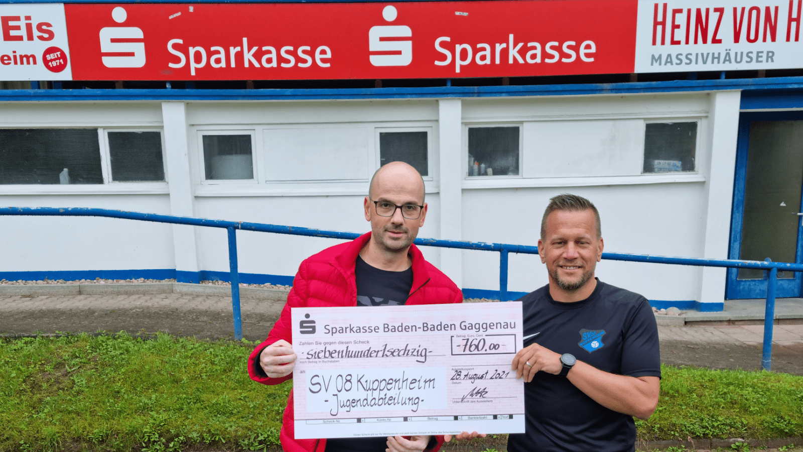 Sparkasse Baden-Baden Gaggenau Spende